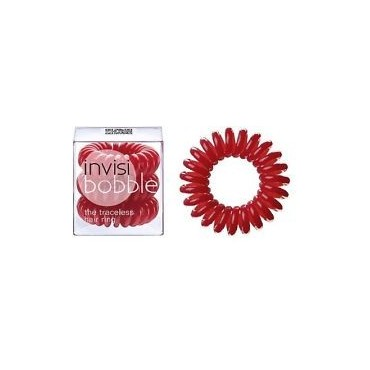 InvisiBobble Pack 3 coleteros - Raspberry Red