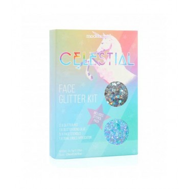 Models Own - *Celestial Collection* - Kit de rostro Glitter - 02: Hydra Orion